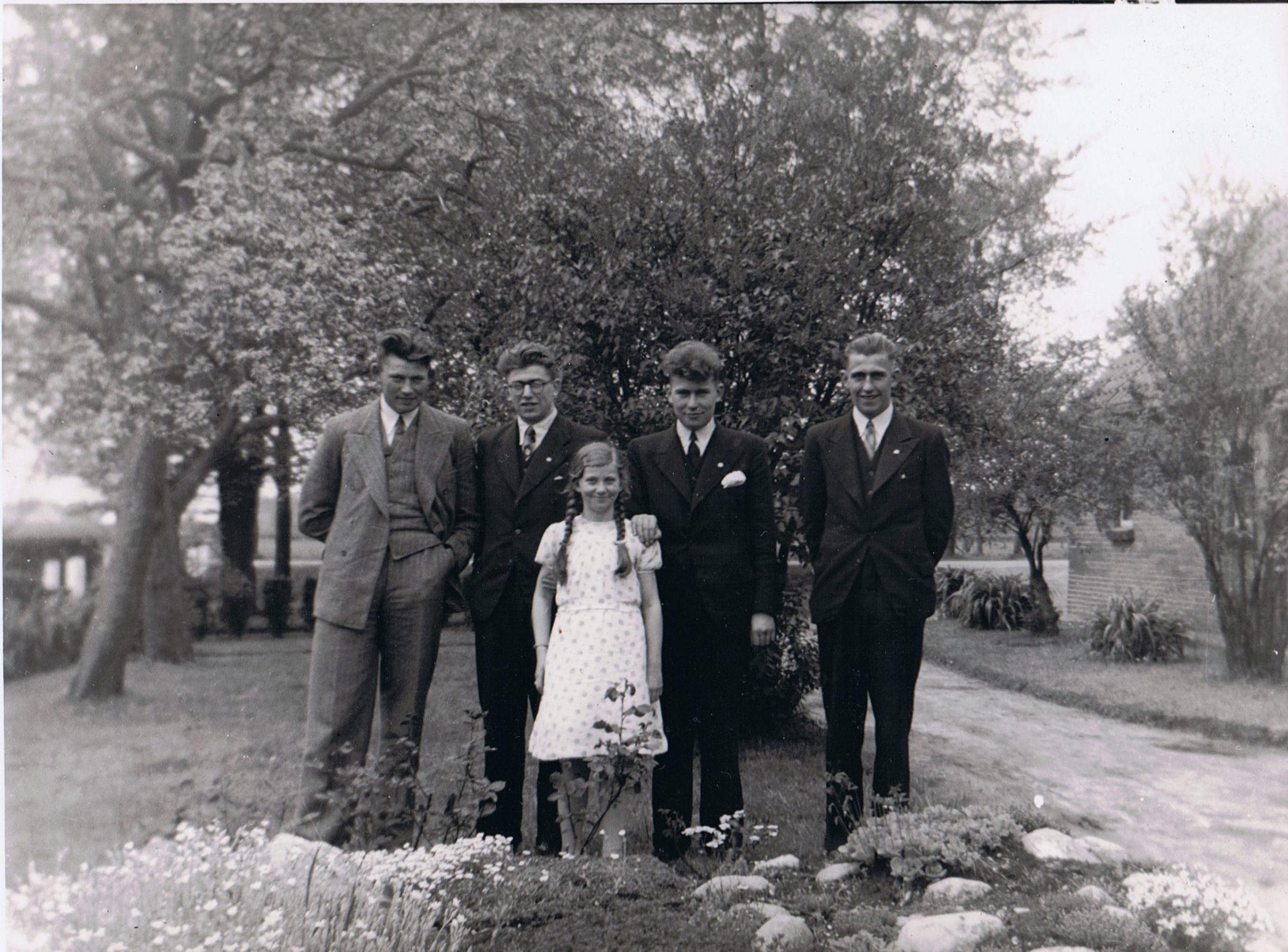Familie Jans Assies