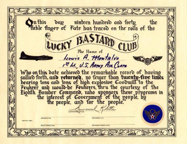 Lucky Bastard Club
